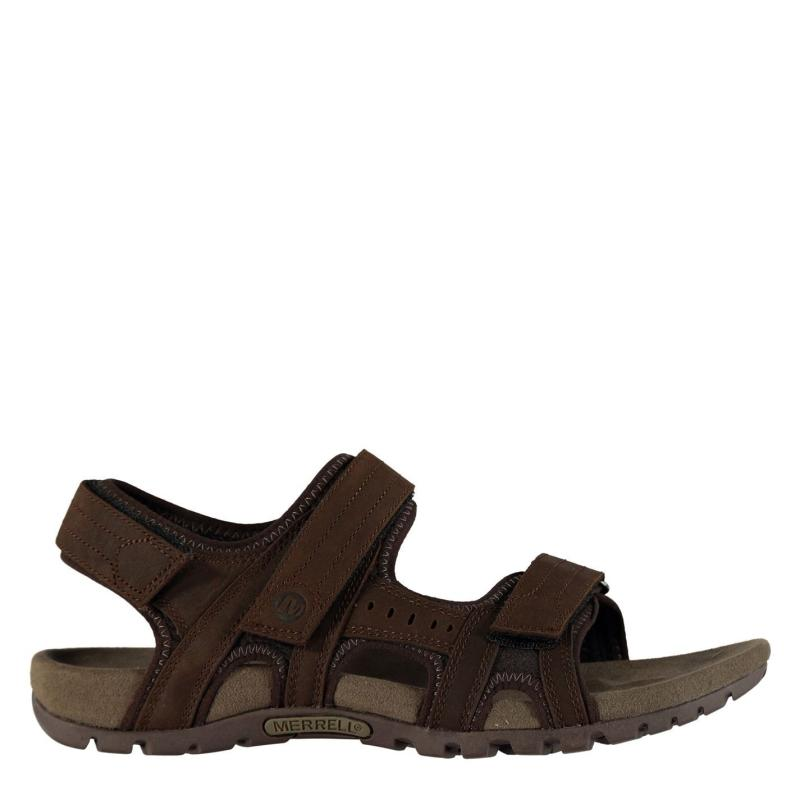 Merrell Sandspur Backstrap Mens Sandals Dark Earth