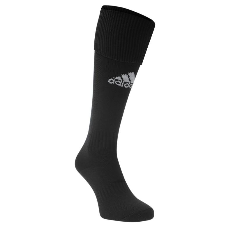 Adidas Santos Football Socks Junior Black/White