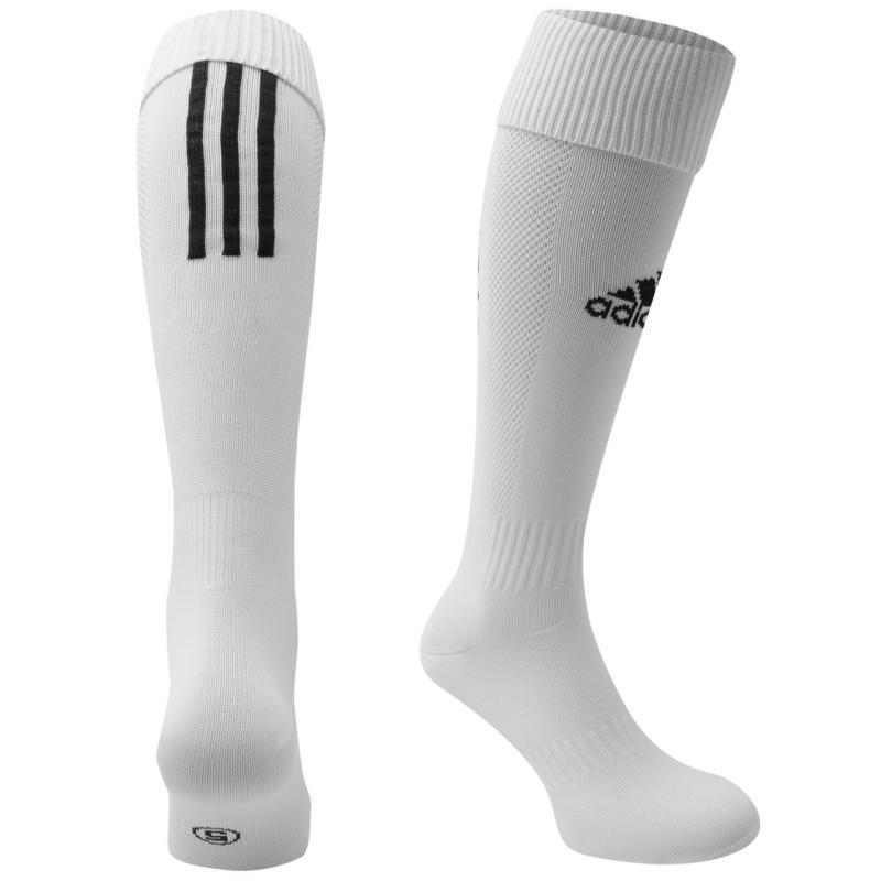 Adidas Santos Socks Childrens White/Black