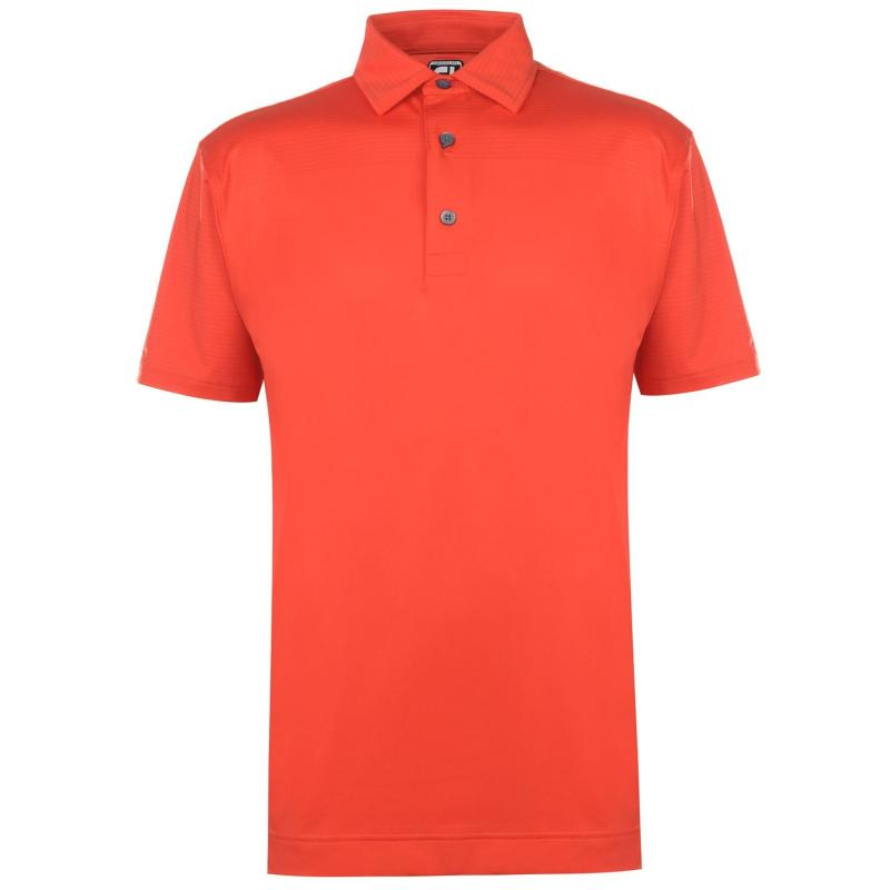 Footjoy Tonal Polo Shirt Mens Scarlet