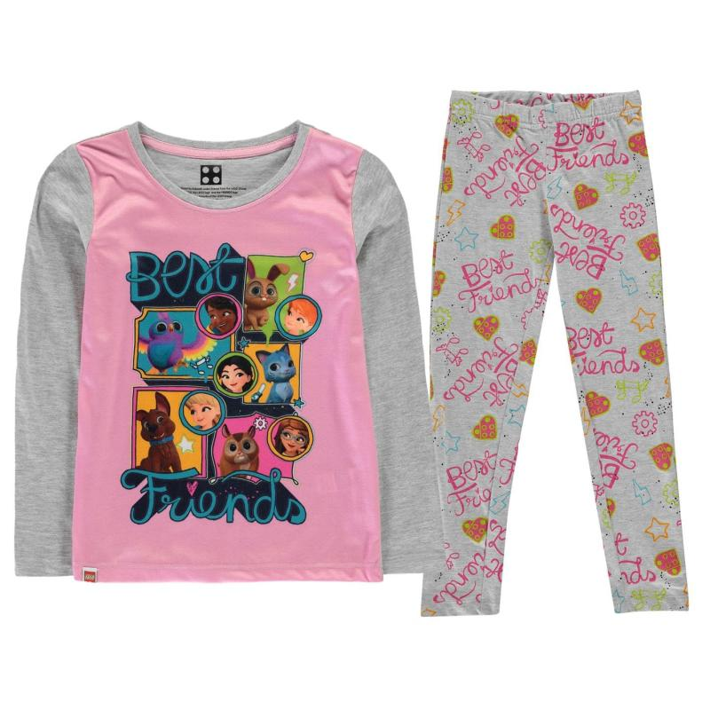 Lego Wear Pyjama Set Child Girls Pink Friends