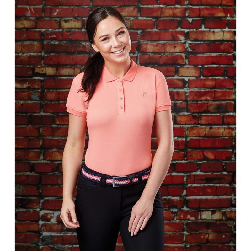 Polokošile Dublin Ara Short Sleeve Polo Powder Pink