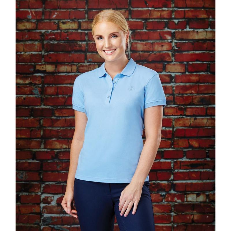 Polokošile Dublin Ara Short Sleeve Polo Powder Blue