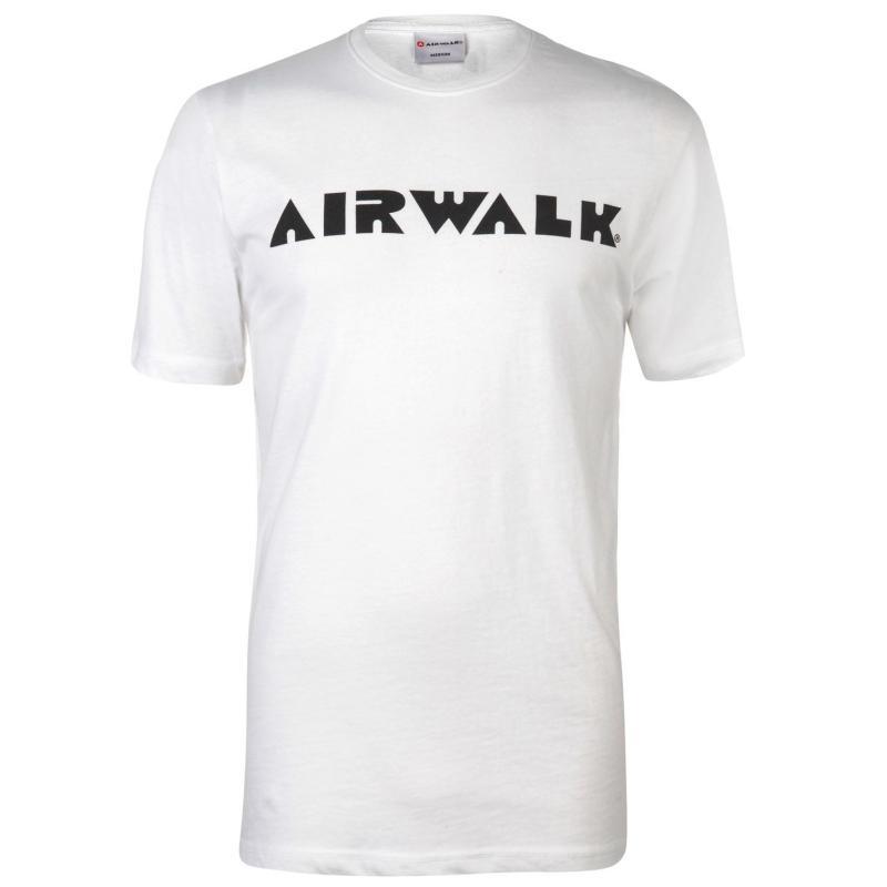 Tričko Airwalk Logo T Shirt Mens White