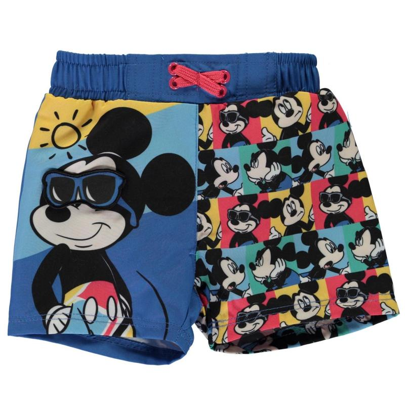 Plavky Character Board Shorts Baby Boys Mickey Mouse