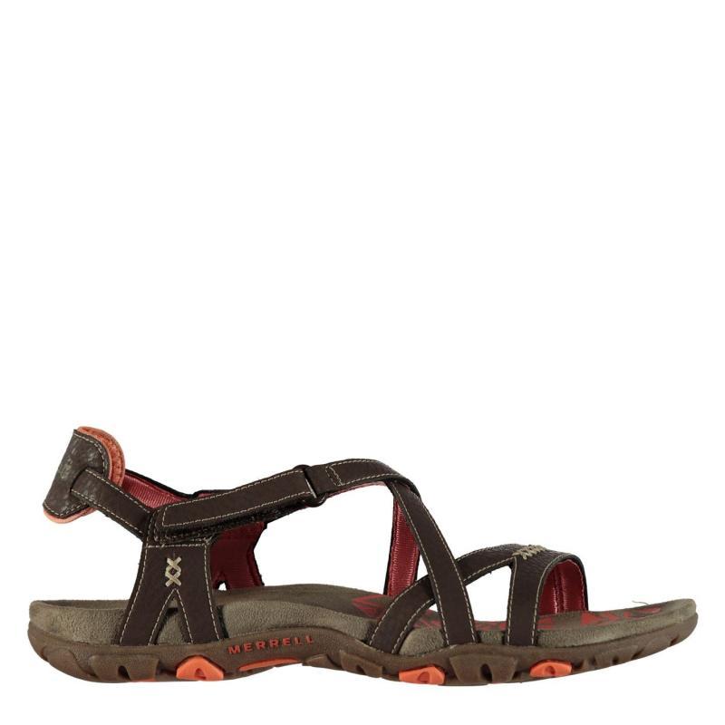 Merrell Sandspur Ladies Sandals Cocoa/Coral