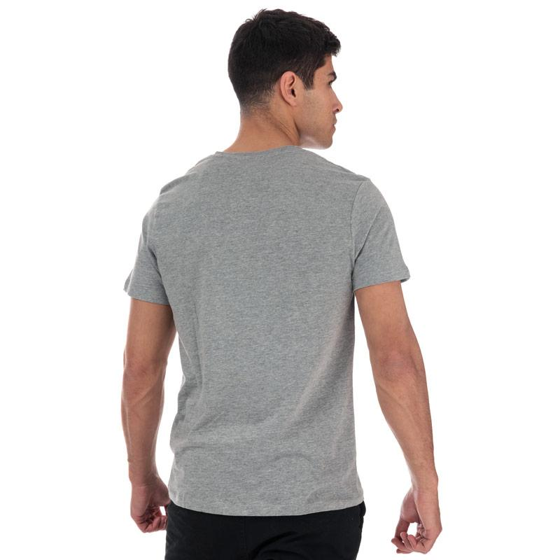 Tričko Jack Jones Mens Traffic Crew Neck T-Shirt Khaki