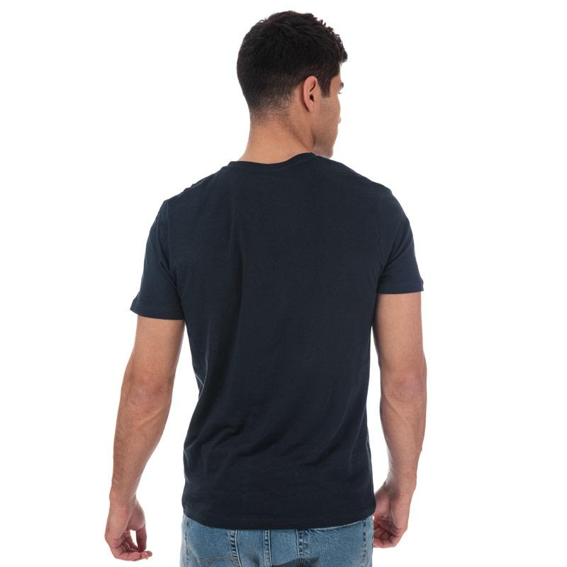 Tričko Jack Jones Mens Traffic Crew Neck T-Shirt Navy