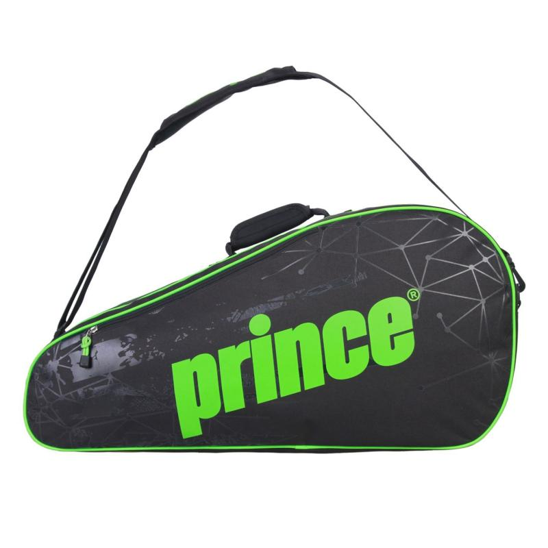 Prince React 6 Racket Bag Black/Green