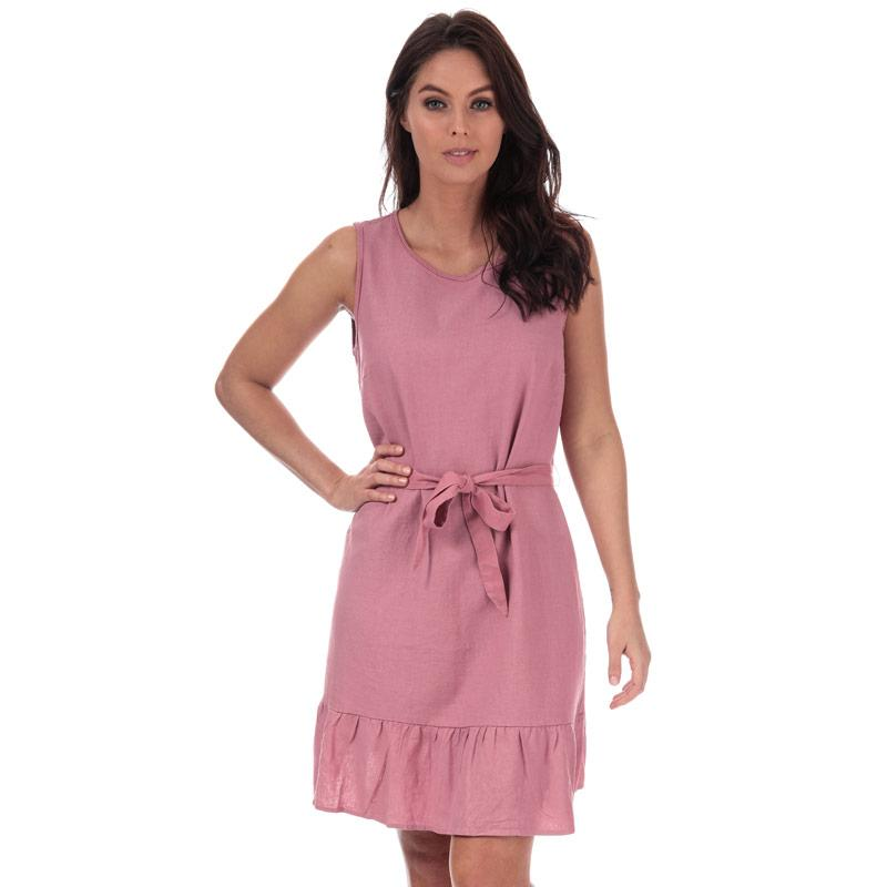 Šaty Vero Moda Womens Anna Milo Sleeveless Dress Dusky Pink