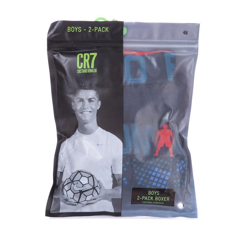 Ponožky Boys CR7 2 Pack Boxer Shorts blue navy