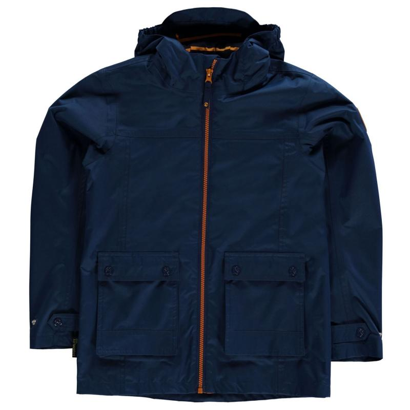 Gelert Coast Waterproof Jacket Junior Gelert Nvy/Oran