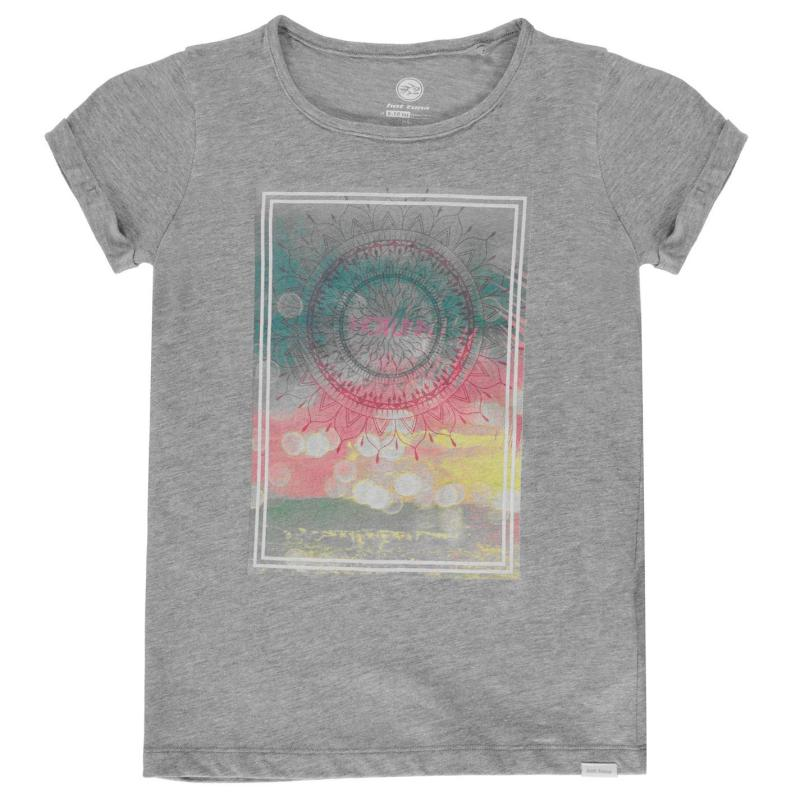 Hot Tuna T Shirt Junior Girls Grey Marl