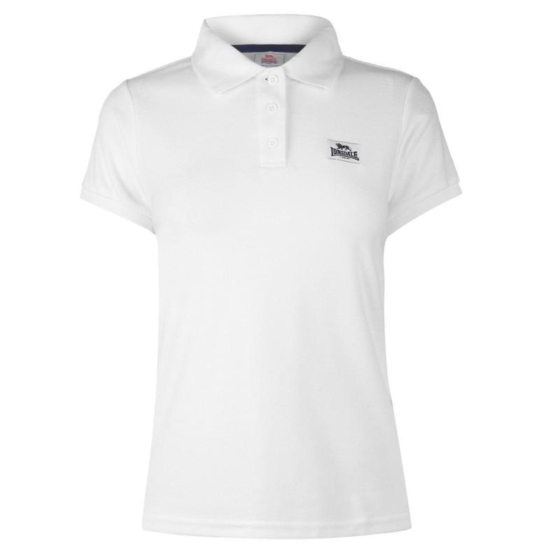 Polokošile Lonsdale Lion Polo Shirt Ladies White