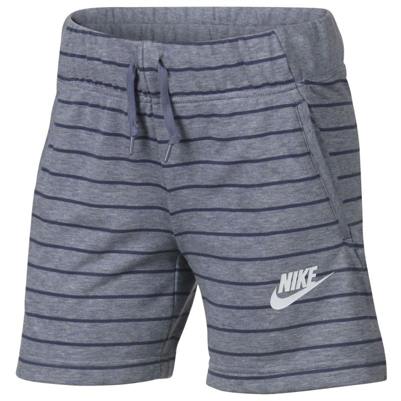 Nike NSW Shorts Junior Girls Grey