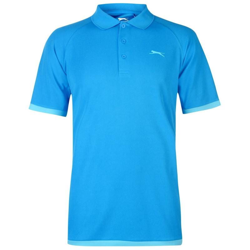 Slazenger Court Polo Mens Blue