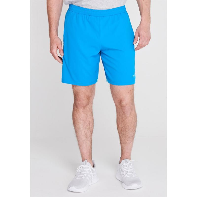 Slazenger Court Shorts Mens Blue