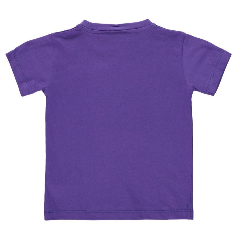 Tričko Slazenger Plain T Shirt Infant Boys Bright Blue