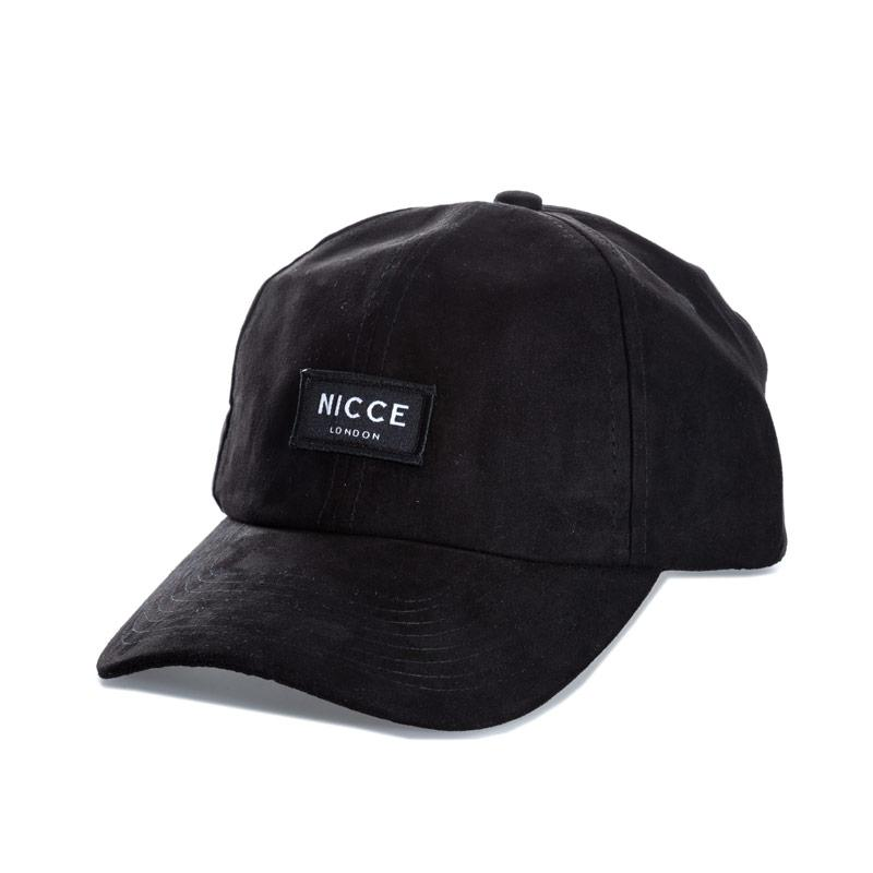 NICCE Mens Shane Logo Cap Black