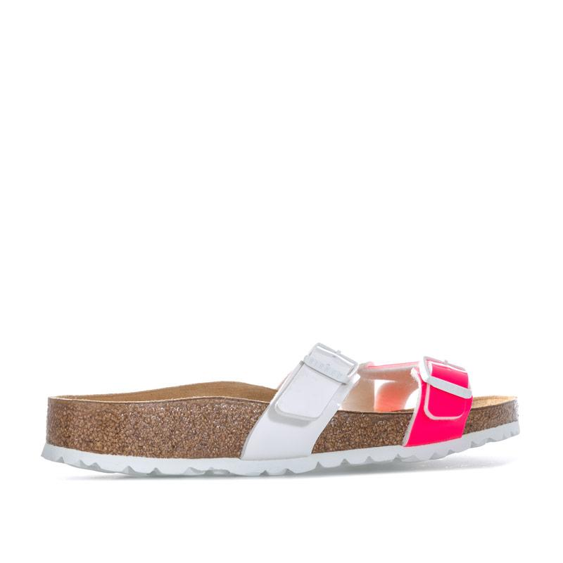 Boty Birkenstock Womens Yao Sandals Narrow Width Pink white