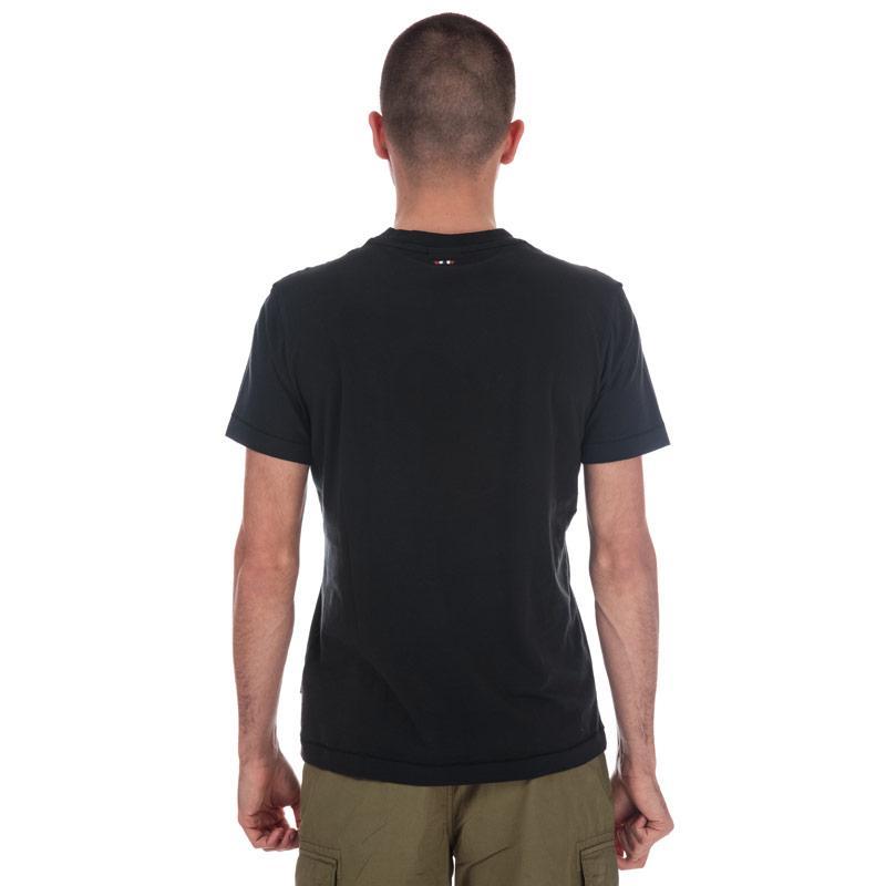 Tričko Napapijri Mens Sevora Short Sleeve T-Shirt Black