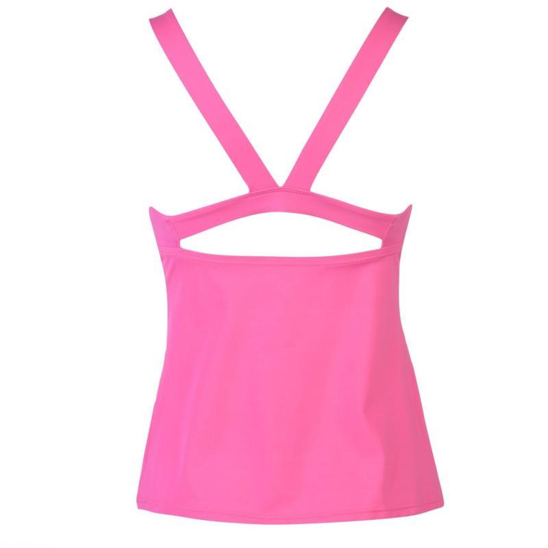 Plavky Nike Mesh Tankini Ladies Fuchsia