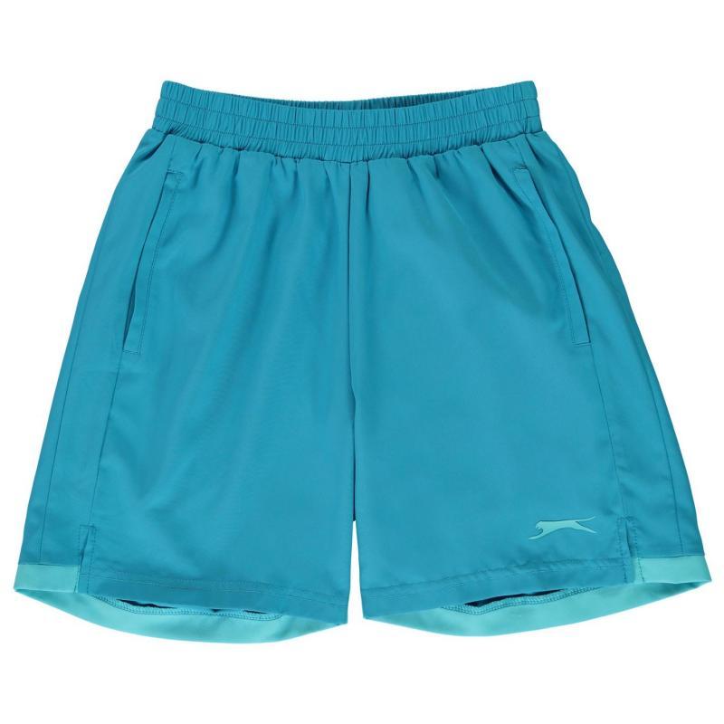 Slazenger Court Shorts Junior Blue