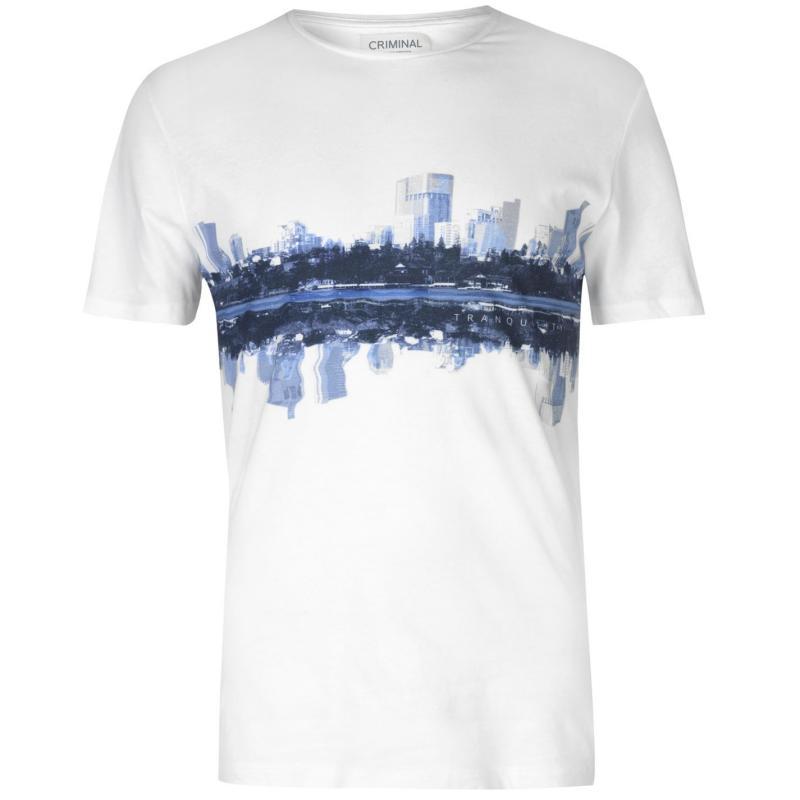 Tričko Criminal Tranquility Graphic T Shirt
