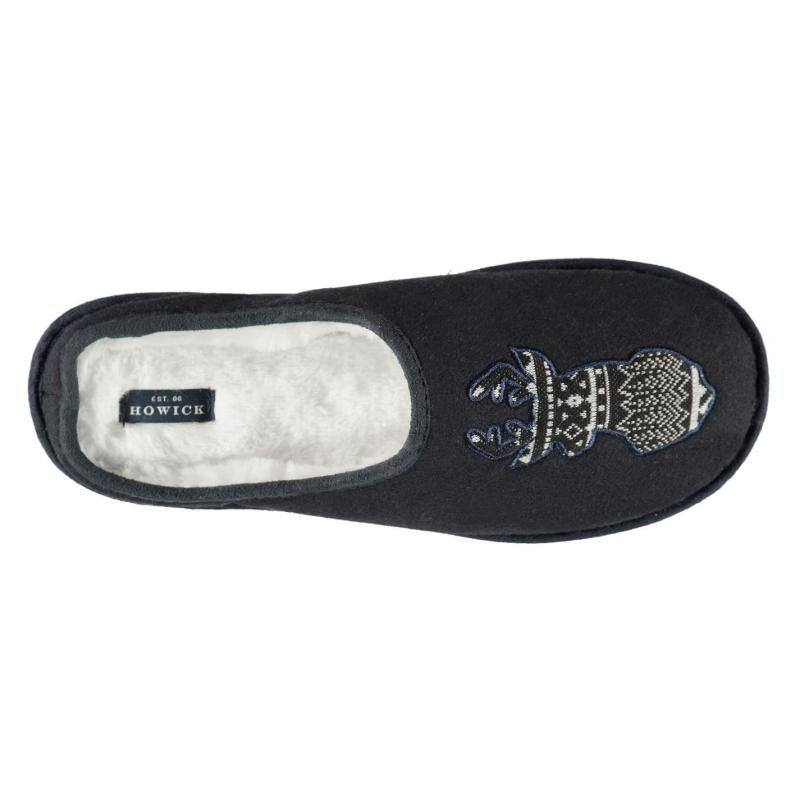 Pyžamo Howick Applique Stag Head Slippers