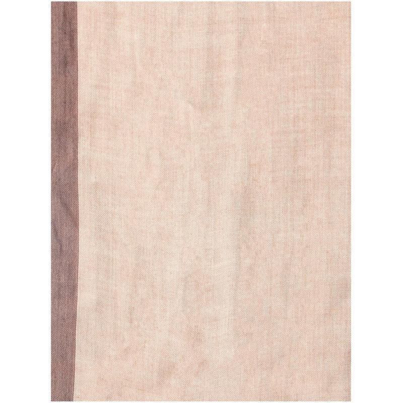 Linea Check jaquard scarf