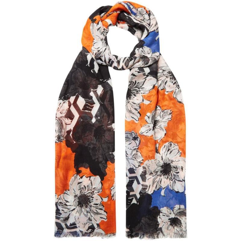 Linea Floral geo scarf