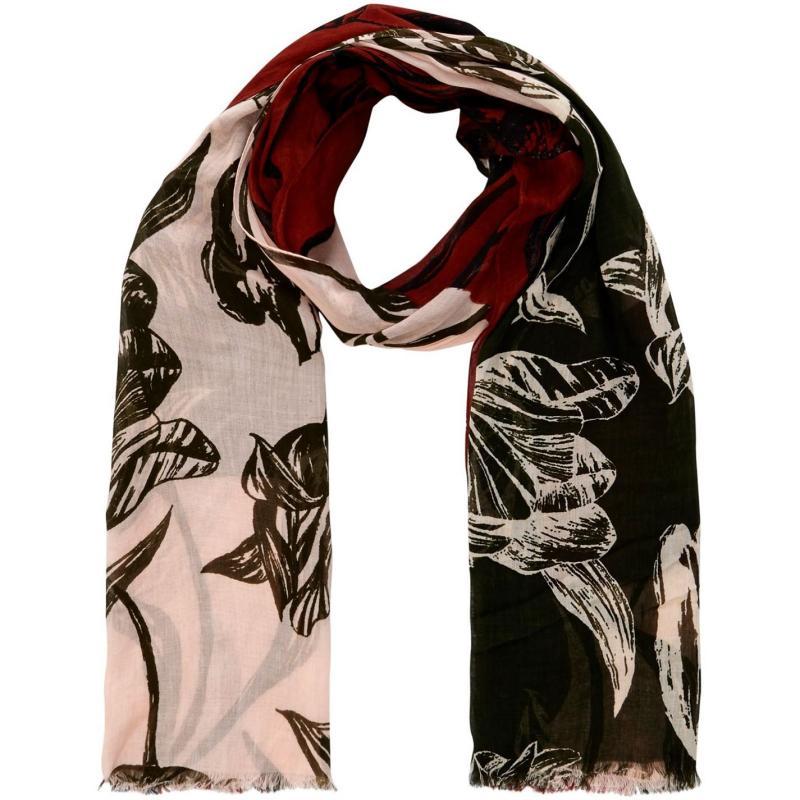 Linea Tulip patchwork scarf