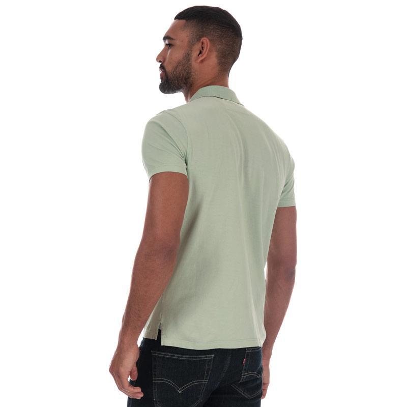 C.P. Company Mens Mako Polo Shirt Green