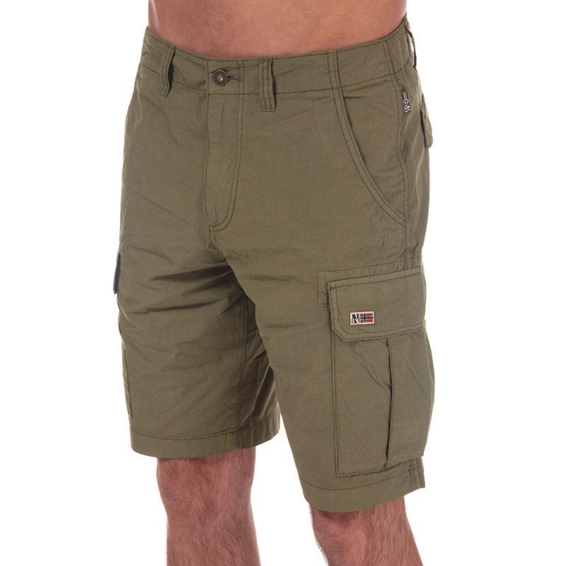 Napapijri Mens Noto2 Cargo Shorts Navy