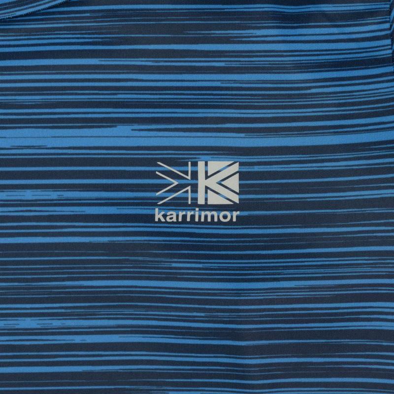 Tričko Karrimor X Race T Shirt Junior Boys Blue AOP