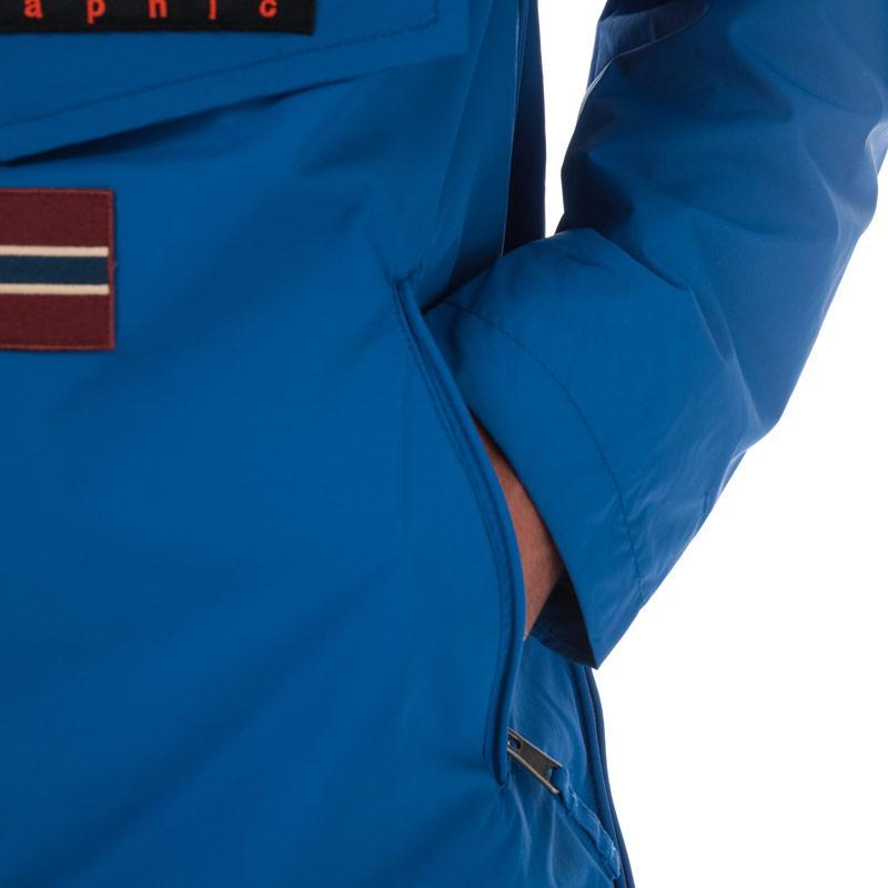 Napapijri Mens Rainforest Jacket Blue