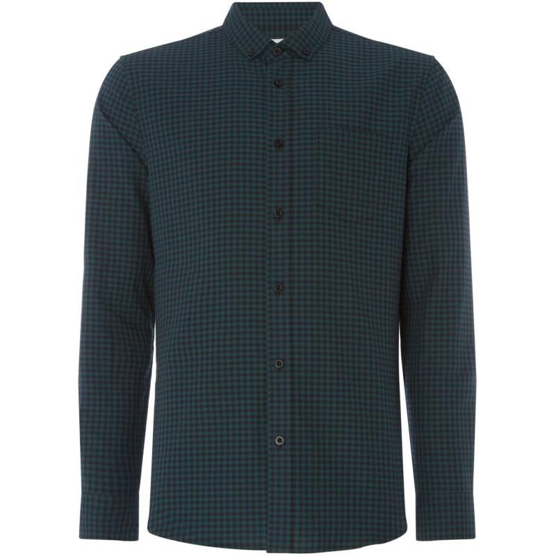 Linea Harper Gingham Oxford Shirt