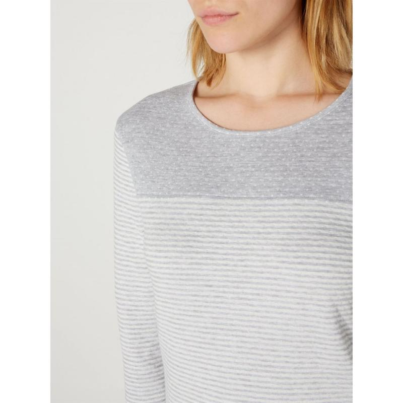 Tričko Maison De Nimes Spot stripe lounge top