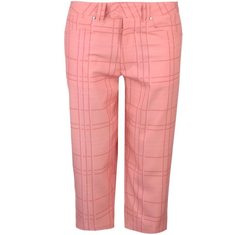 Kalhoty Slazenger Capri Trousers Ladies Pink