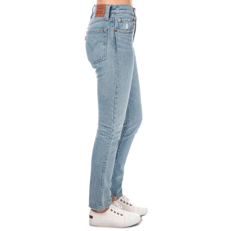 Levis Womens 501 Skinny Lovefool Jeans Denim