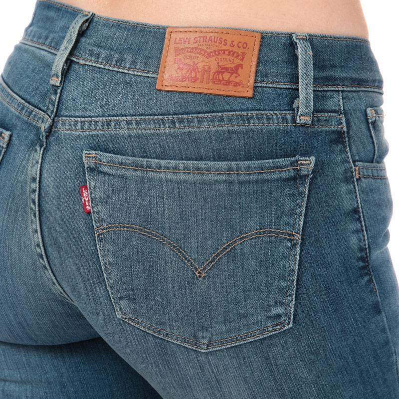Levis Womens 710 Super Skinny Rope Swing Jeans Denim