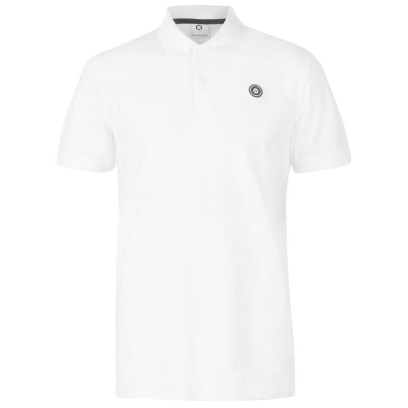 Jack and Jones Core Andres Polo Shirt White