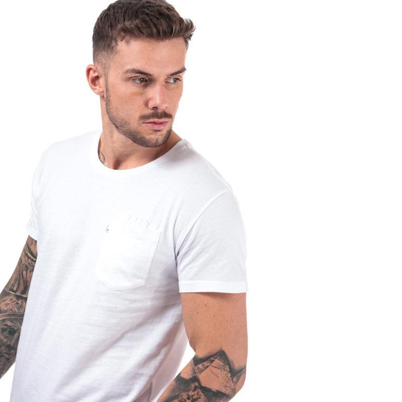 Tričko Levis Mens L8 Long Line T-Shirt White