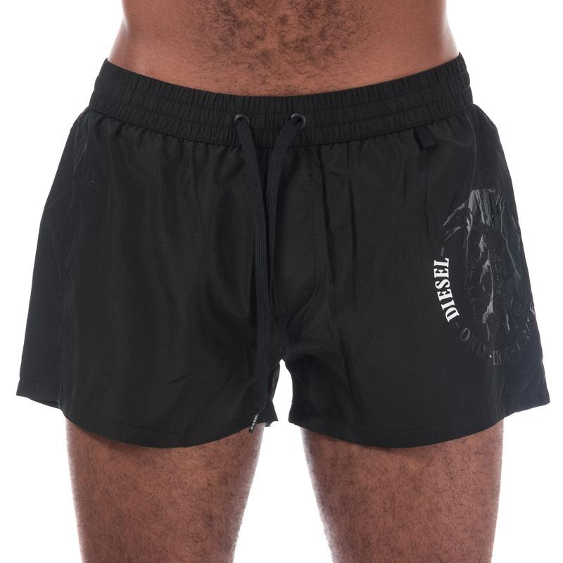 Diesel Mens Sandy E Swim Shorts Black