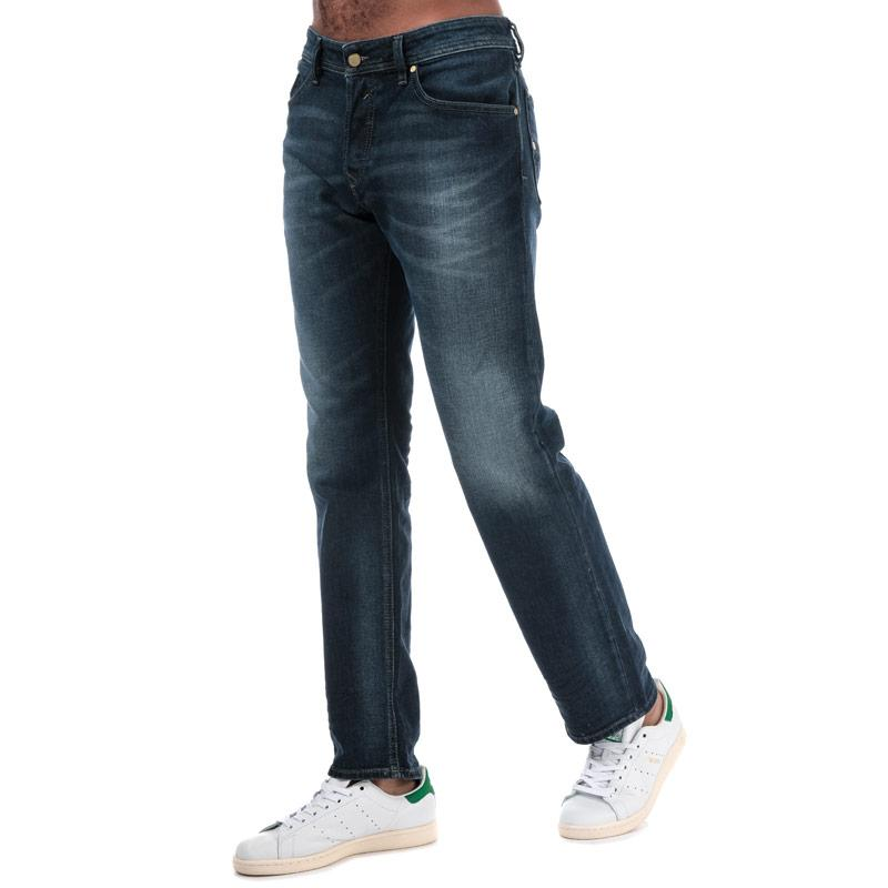 Diesel Mens Waykee Jeans Light Blue