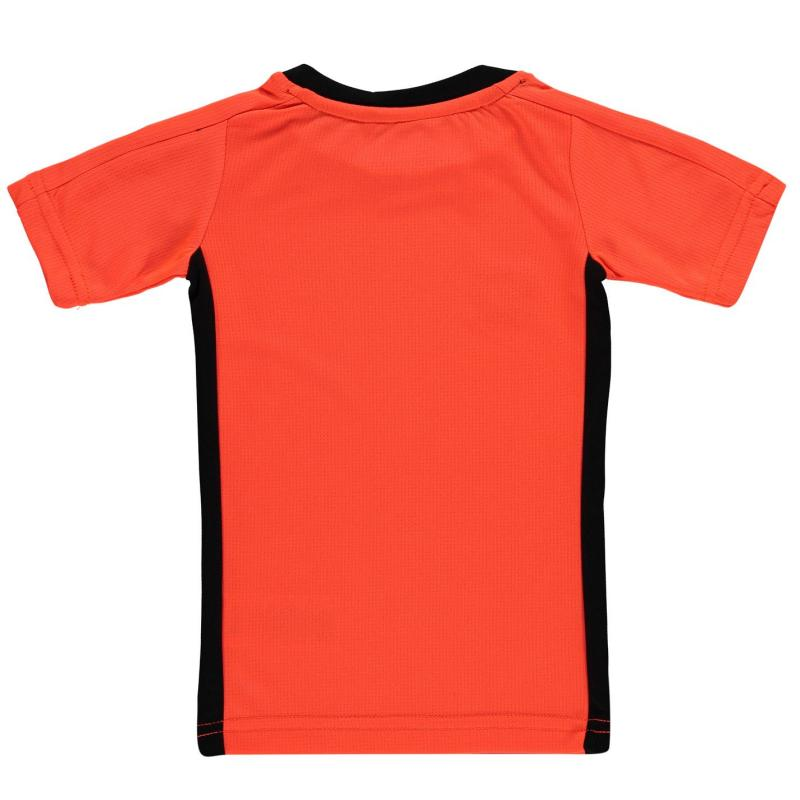 Tričko Sondico T Shirt Infants FluOrange/Black
