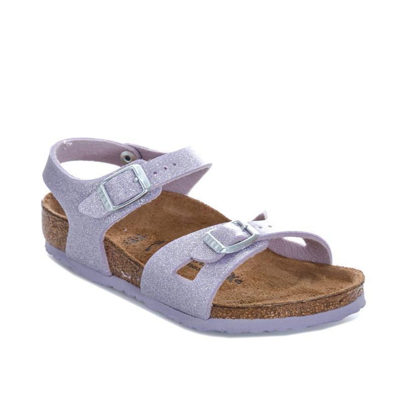 Birkenstock Children Girls Rio Magic Sandals Violet