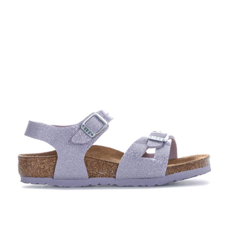 Birkenstock Infant Girls Rio Magic Sandals Violet