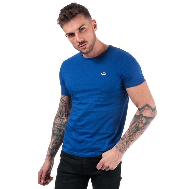 Tričko Le Shark Mens Avenue Crew T-Shirt Blue