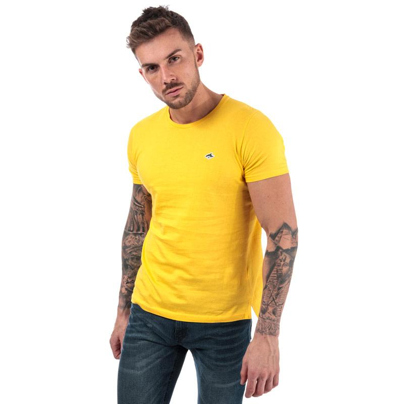 Tričko Le Shark Mens Avenue Crew T-Shirt Yellow